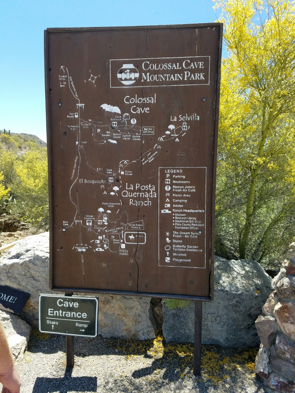 Collosal Cave Mountain Park is on the National Register of Historic Places
