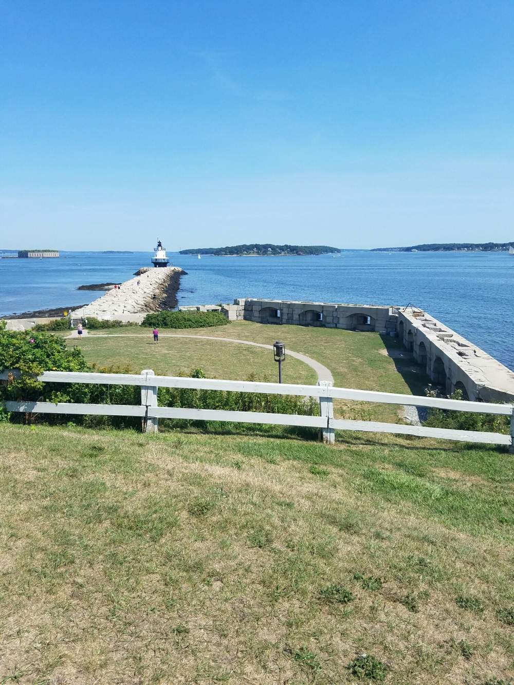 Fort Preble and Spring Point Ledge Lighthouse