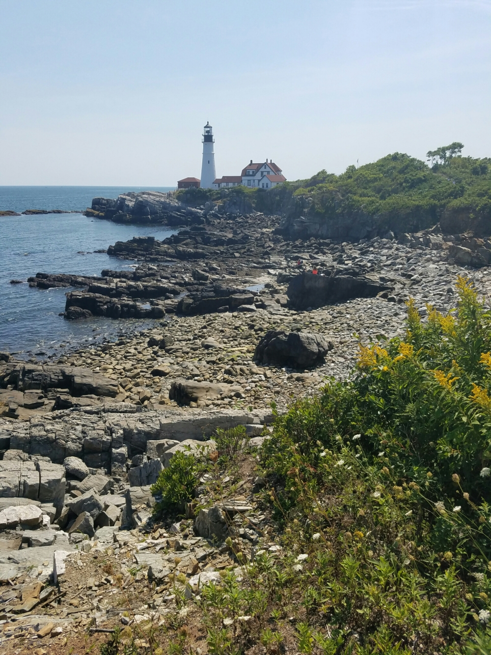 Portland Head Lighthouse at Fort Williams Park