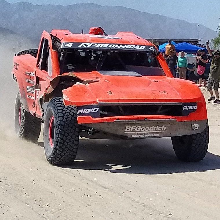Offroad racing #4 Justin Matney finished the 2017 San Felipe 250 in 4th place