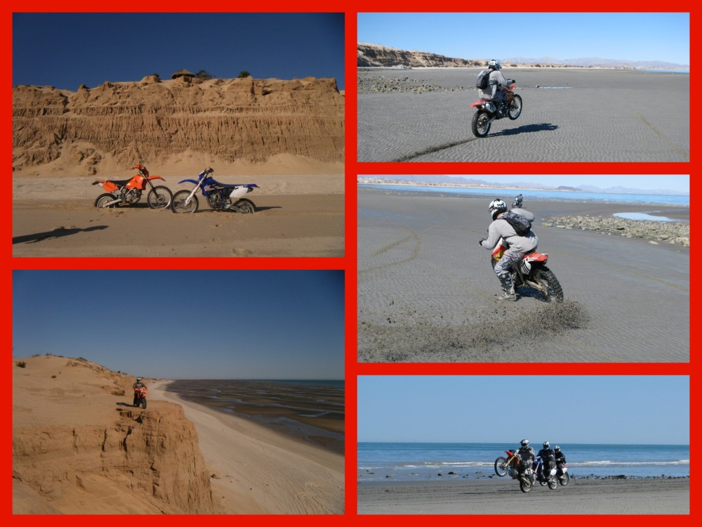 ridingonthebeachcollage