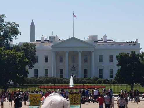 The White House from the Front